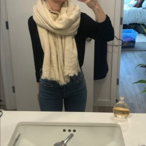 Free people large blanket scarf